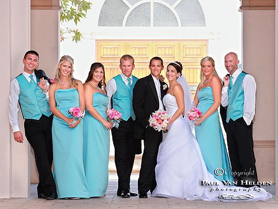 Wedding Party At St Thomas Church